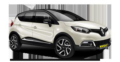 Mingat location voiture routière Renault Captur