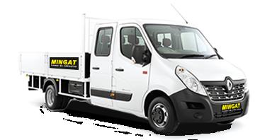 Mingat Renault Master location benne basculante double cabine