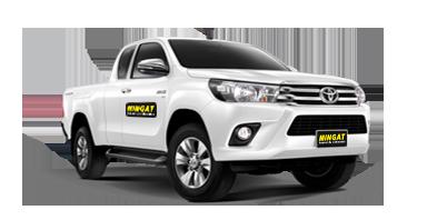 Mingat location Pick up 4x4 Toyota hilux utilitaire
