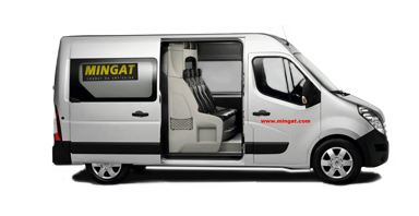 Mingat location fourgon 12 m3 double cabine Renault Master