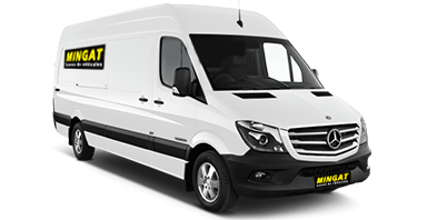 Mingat location fourgon 10 m3 Mercedes Sprinter
