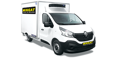 Mingat Renault Master caisse frigo 13 m3 - location frigorifique 7 m3