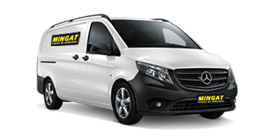 Mingat Location fourgon 5 m3 Mercedes Vito
