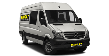 Mingat location fourgon 10 m3 double cabine Mercedes Sprinter