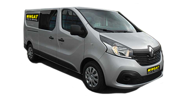Mingat location fourgon 5m3 double cabine Renault Trafic