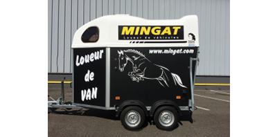 Mingat location Remorque Van à chevaux